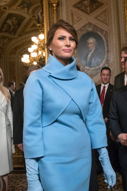 Could Ralph Lauren Be Facing A Boycott After Dressing Melania Trump