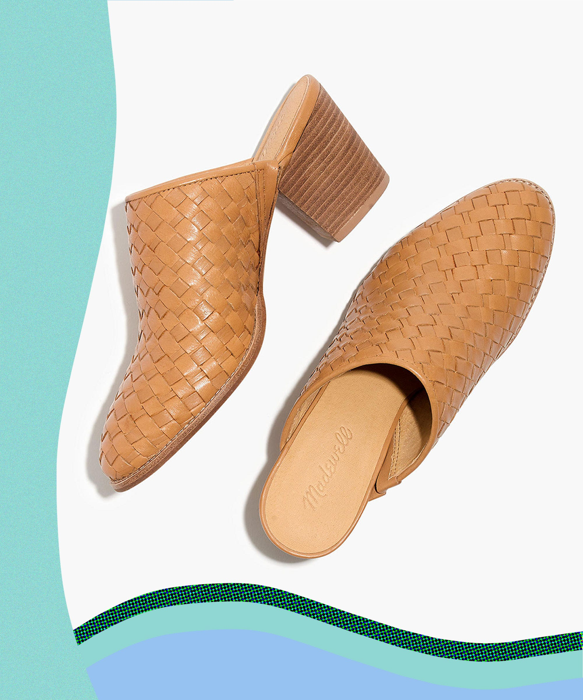 Vision-Board Your Vacation In A Pair Of Woven Mules