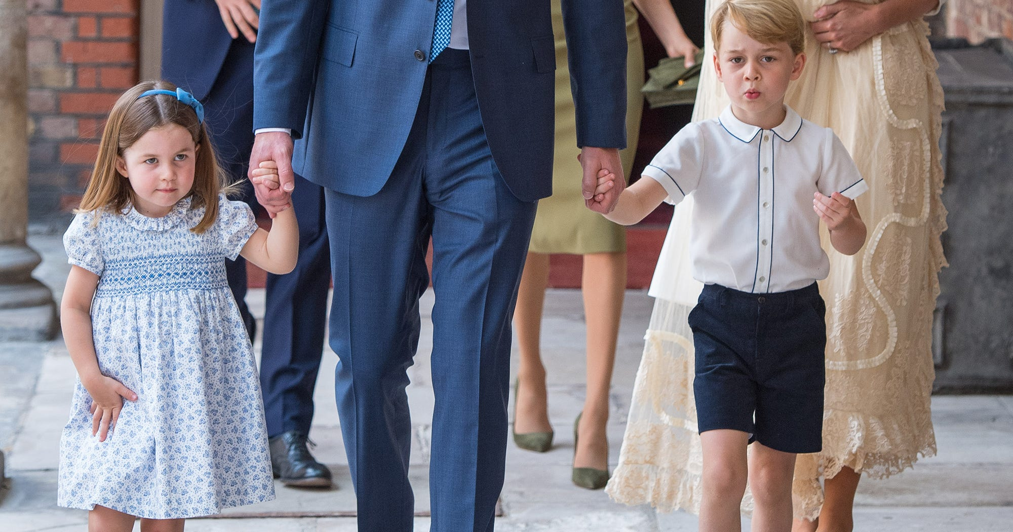 Prince George & Princess Charlotte Just Made Princess Eugenie's Wedding The Event Of The Year
