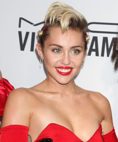 Miley Cyrus Makes A Mockery Of Instagram's No-Nipple Policy With Nearly Nude Photos