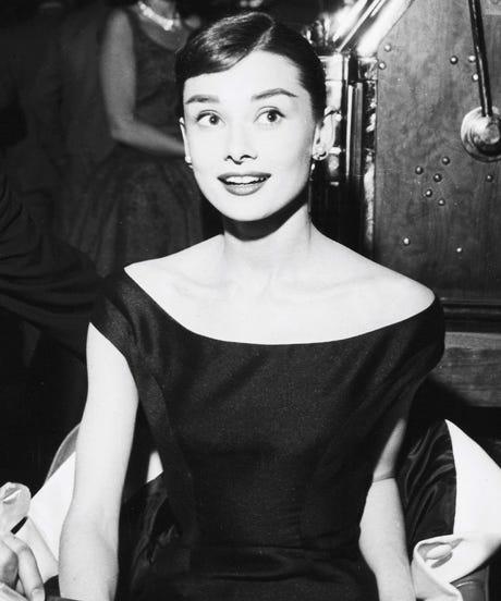 Audrey Hepburn Sheath Column Dress