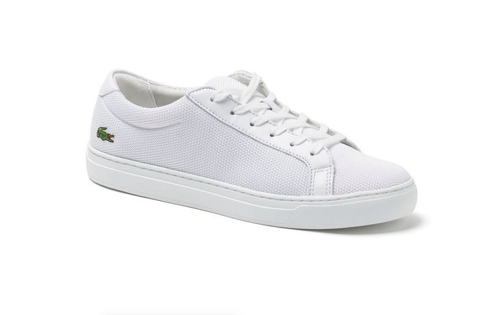 Lacoste L.12.12 Canvas Sneakers, $120, available at Lacoste.