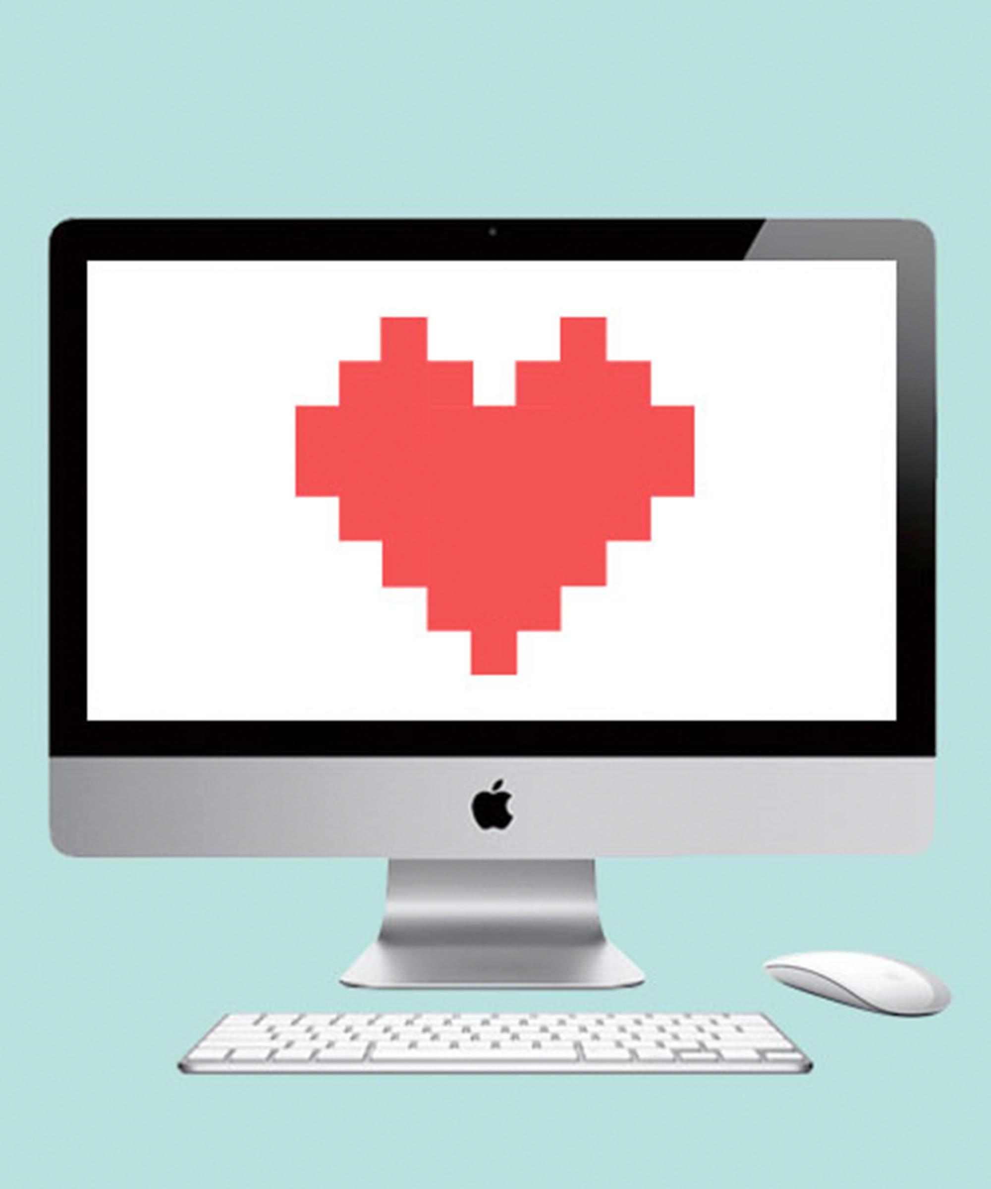 Online-Dating-Schilder, die sie Ihnen gefällt