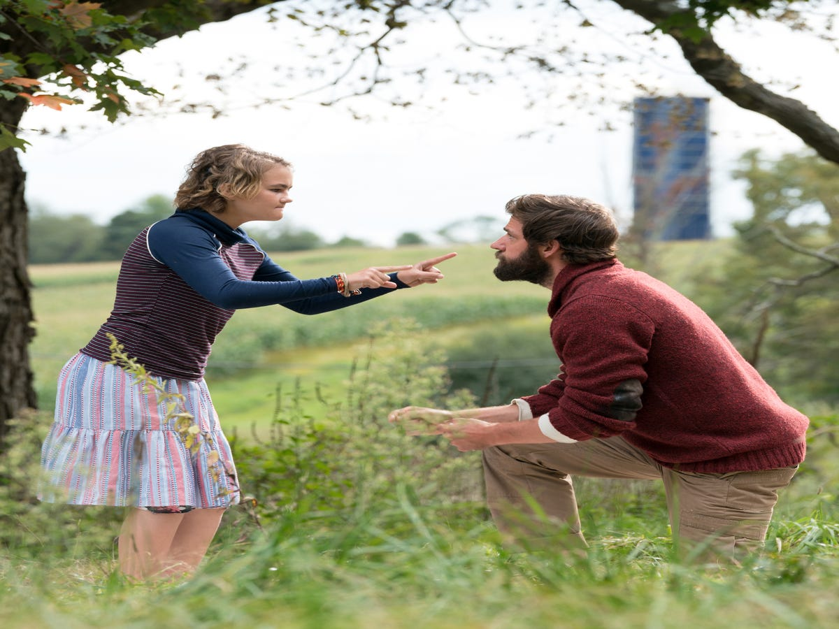 Here s Why John Krasinski Pushed To Cast A Deaf Actress in A Quiet Place