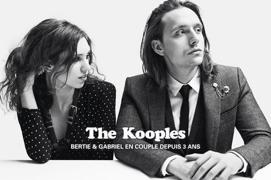89f584bfe0c The Kooples Fall 2014 Ad Campaign - Punk Fashion