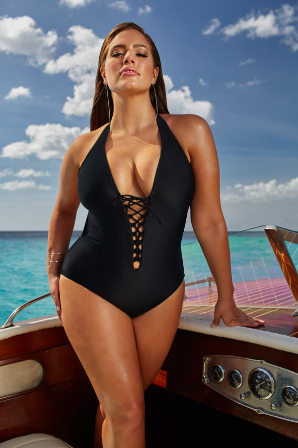 1c3df02189 Ashley Graham Swimsuitsforall Plus Size Swim Collection
