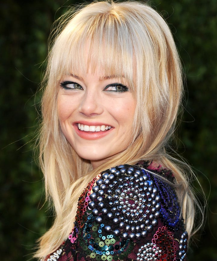 Look - Bangs Celebrity at oscars video