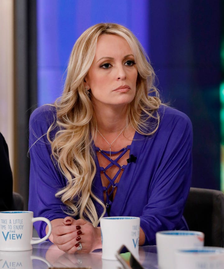 stormy daniels the view