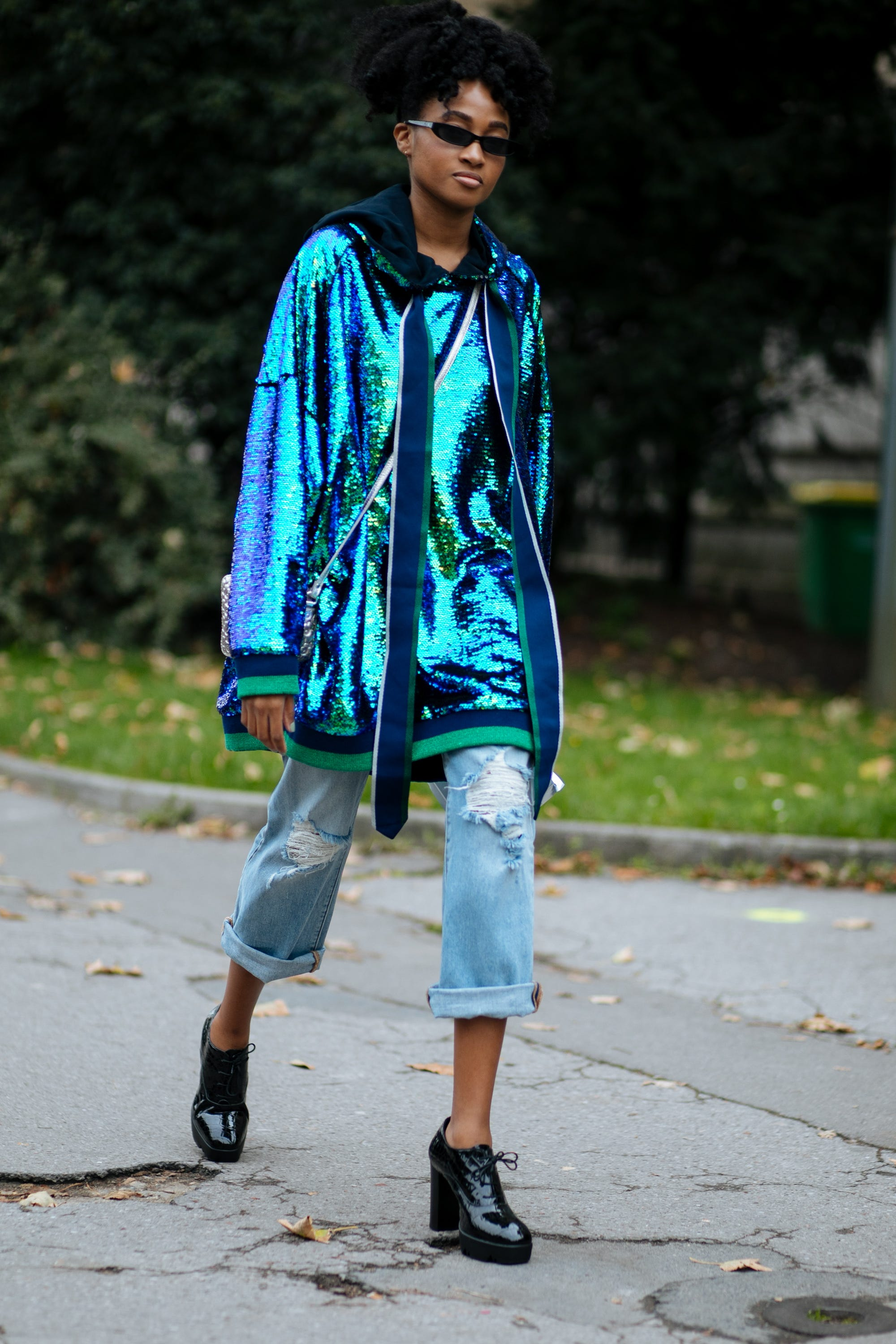 2fec5d516 All The Best Street Style At Paris Fashion Week SS18