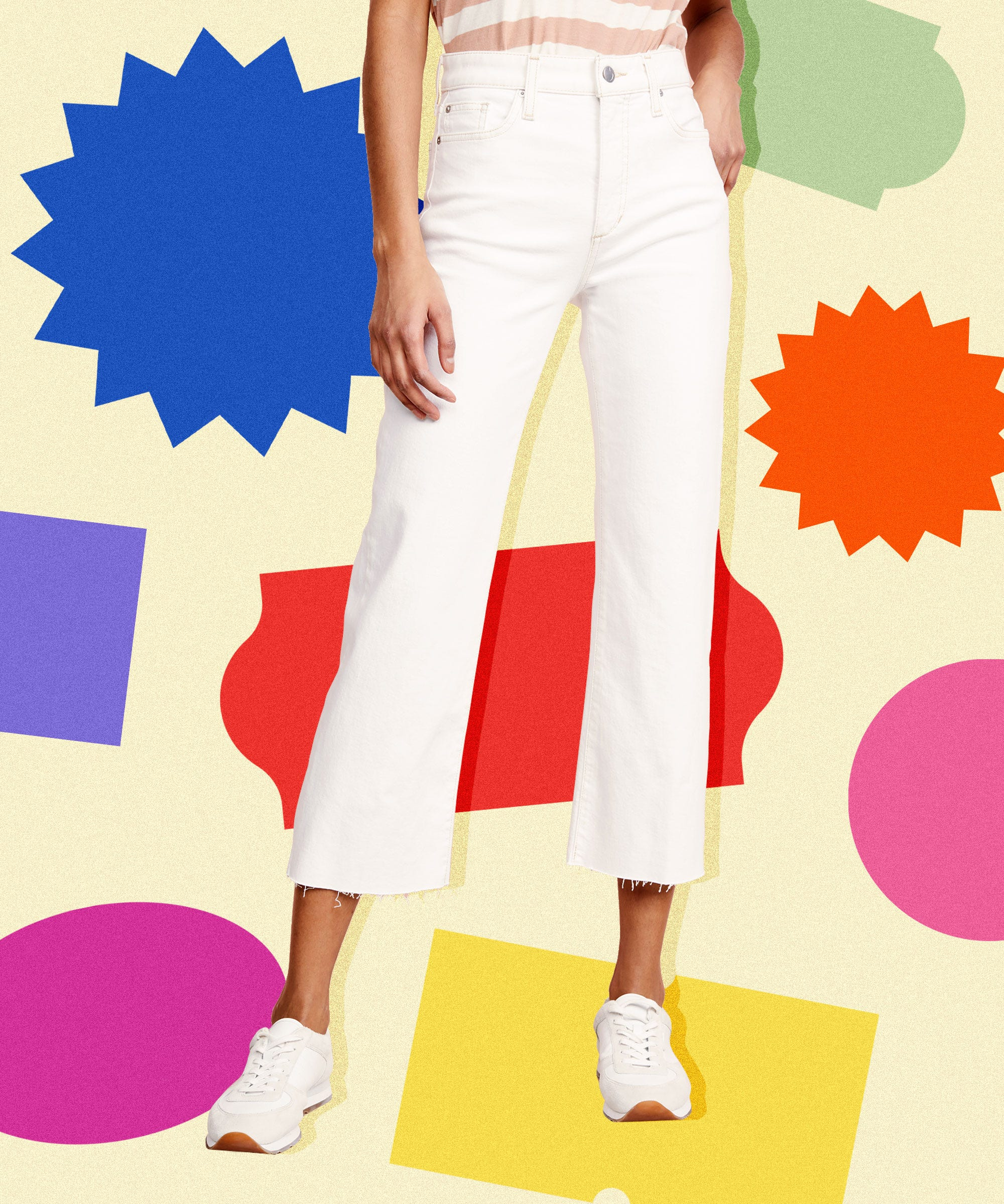 The Best (On Sale!) White Denim To Wear This Summer & Into Fall
