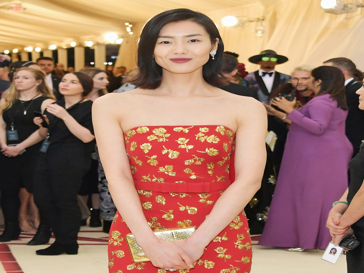 After 9 Met Galas, Model Liu Wen Is Still Having A Ball