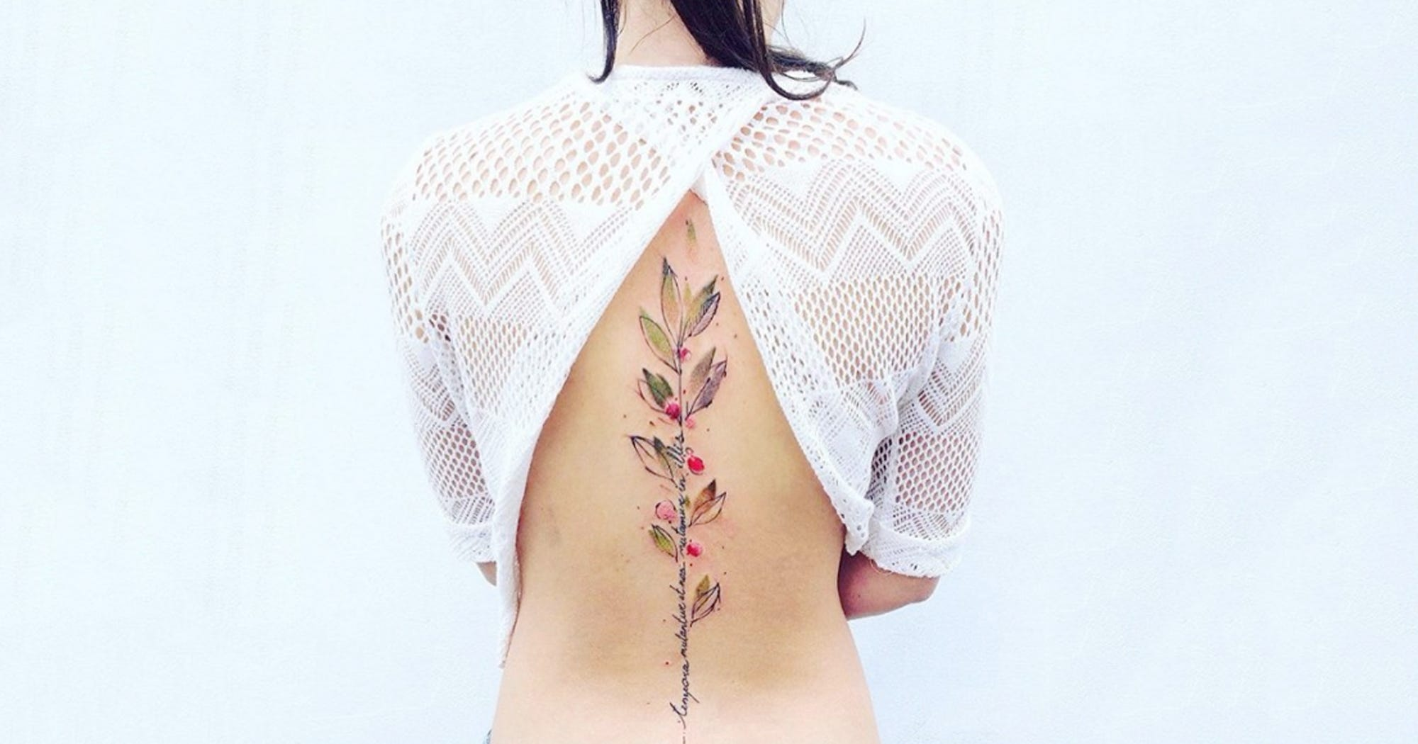 602d8b360 Watercolor Tattoos That Are Perfect For Spring Designs