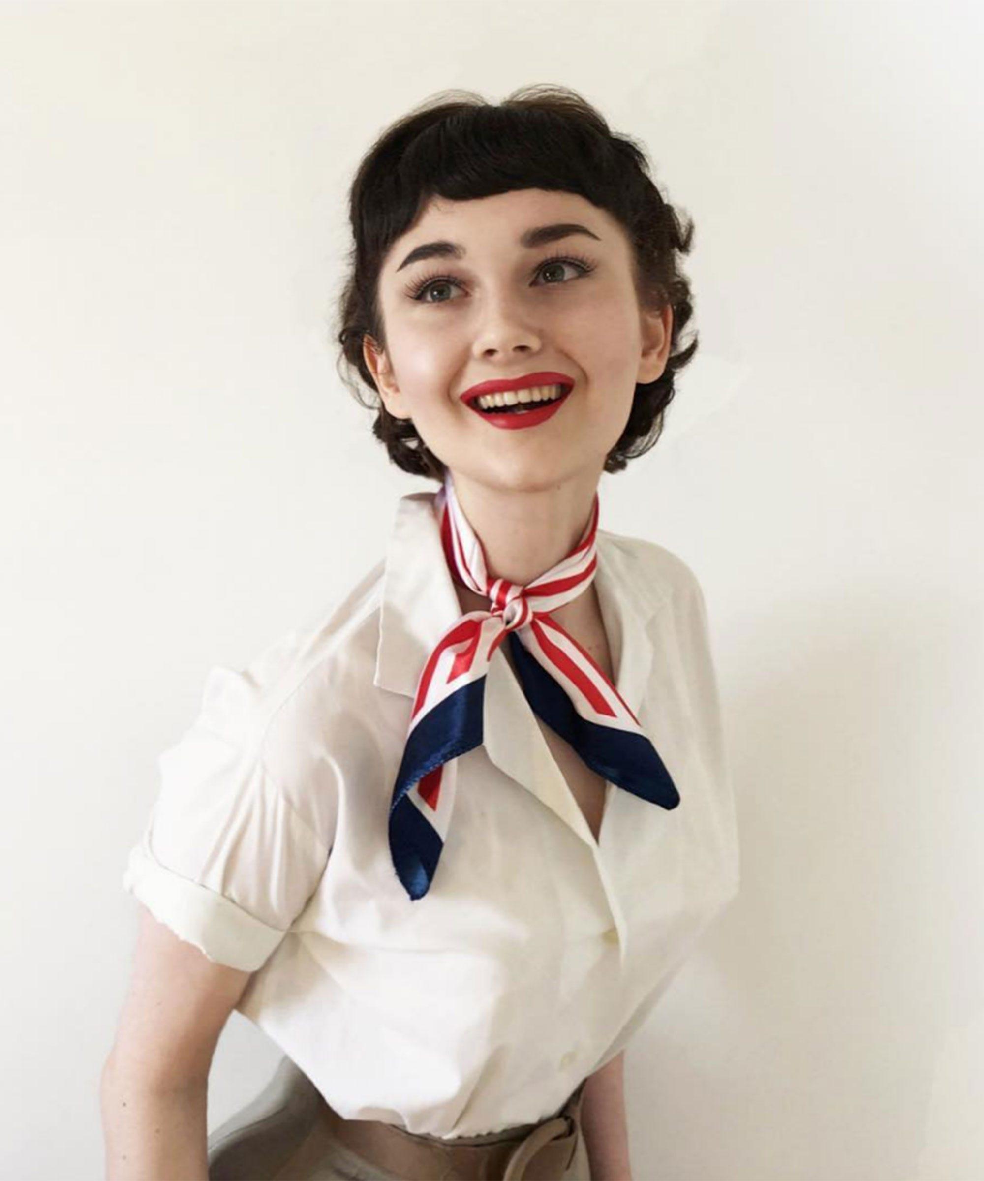 Annelies van overbeek instagram audrey hepburn star baditri Gallery
