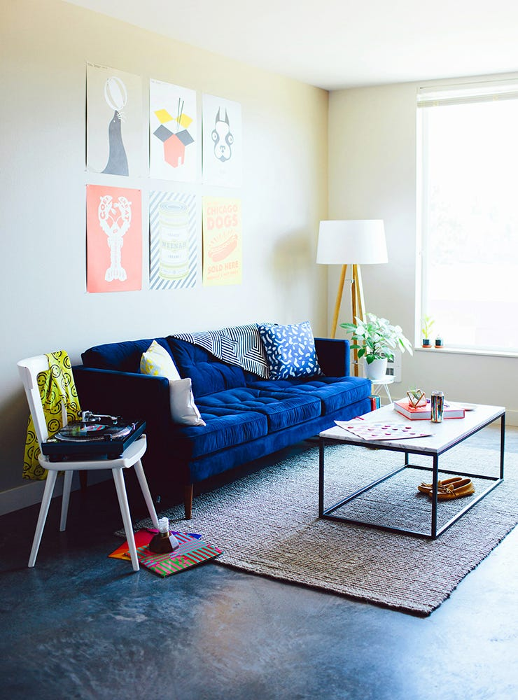 Seattle Studio, Small Space Makeover