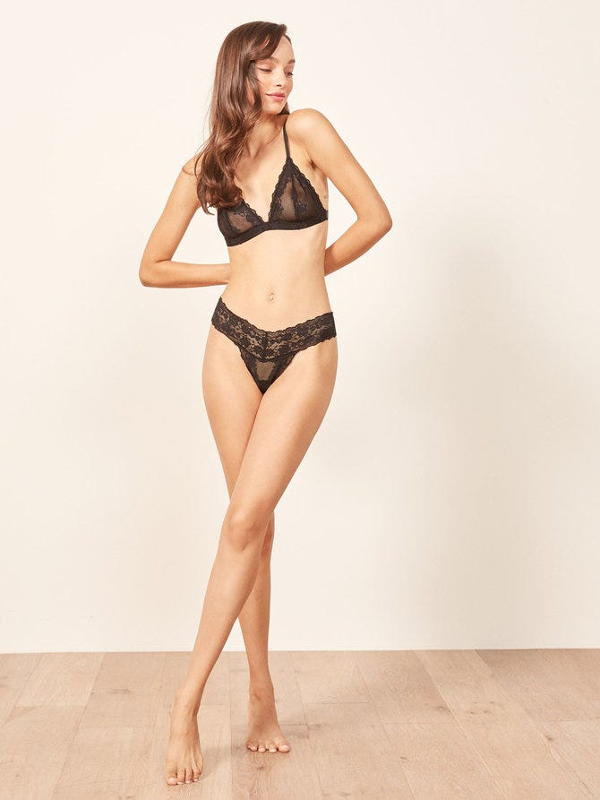 76eecaa1bad Reformation Has A Pretty New Lingerie Line