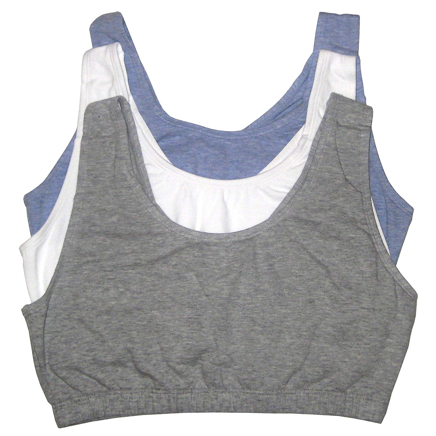26bfbb4a328c7 Fruit Of The Loom. Fruit Of The Loom Women s Built-up Sports Bra