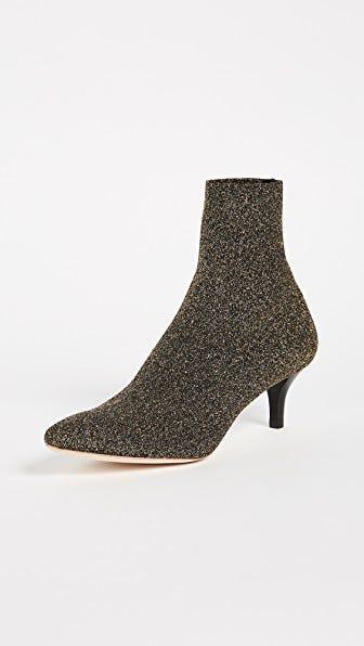 e7d1126825 Kitten Heel Boots Trend Fall 2017 - Zara Topshop Tibi