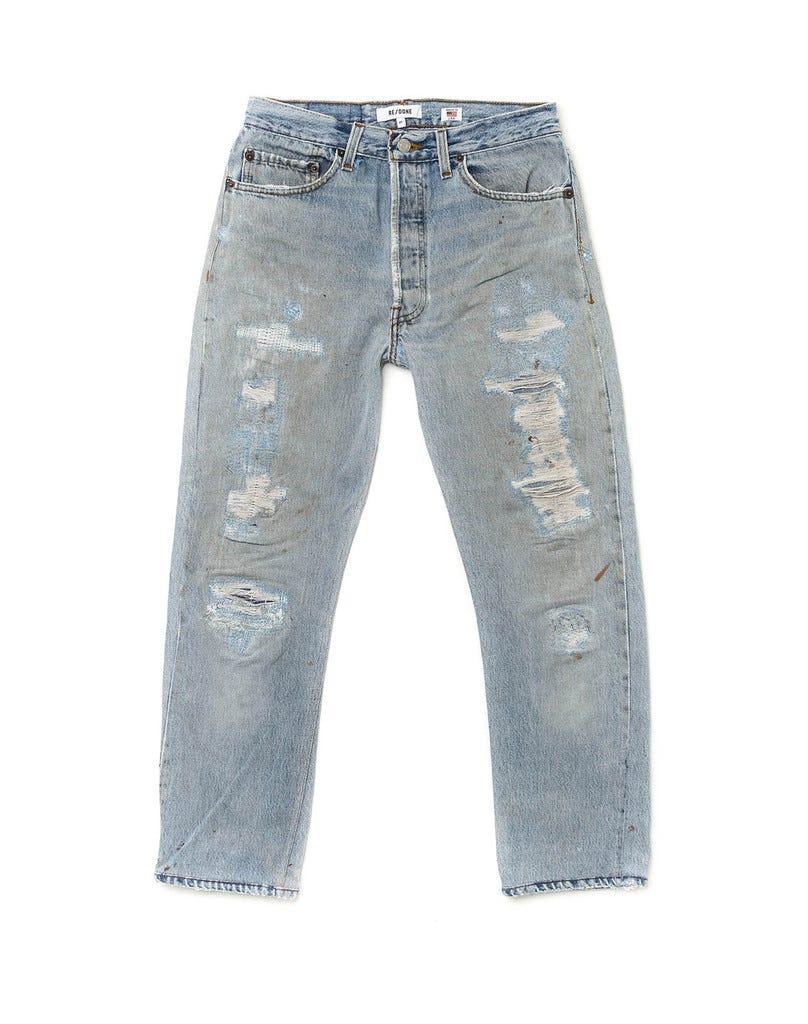 4023374c357a4 Levis ReDone Vintage Mom Jeans Designer Collaboration