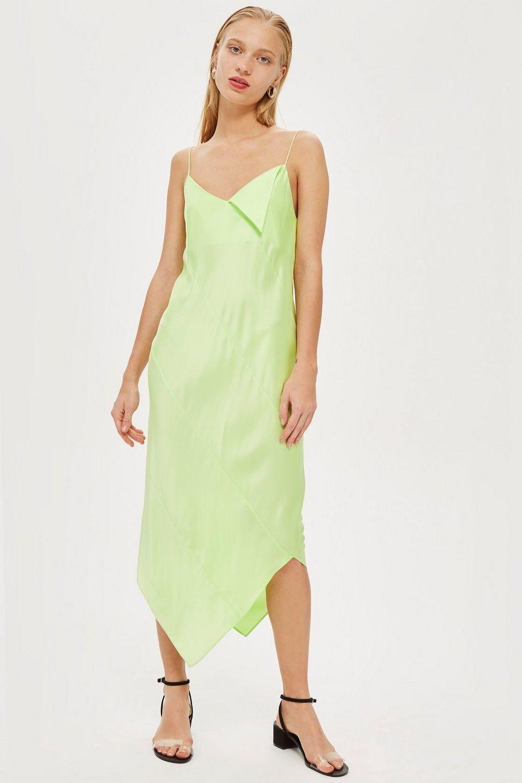 topshop sandwash slip dress