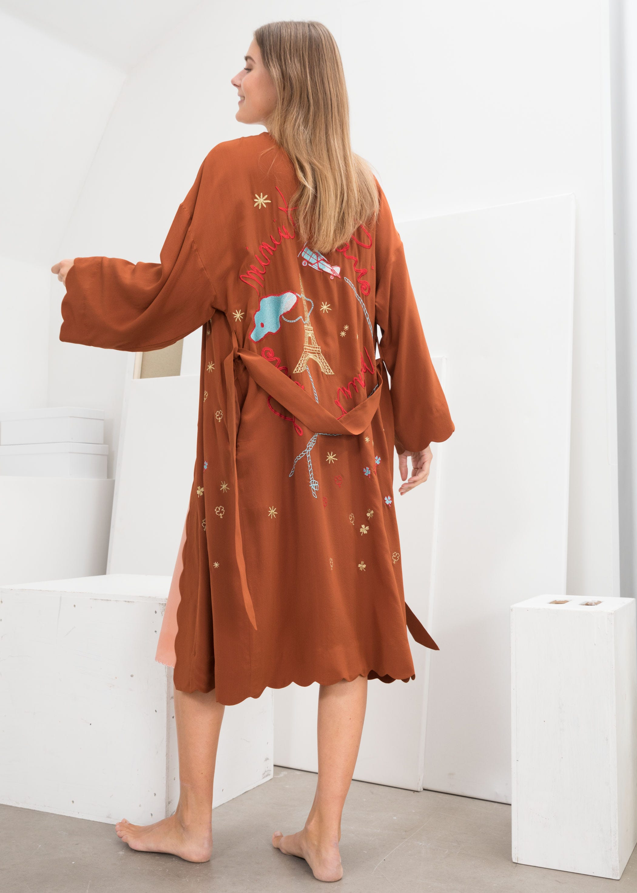 a4dc67aebf8 Best Womens Silk Robes, Bathrobes, Kimonos 2019