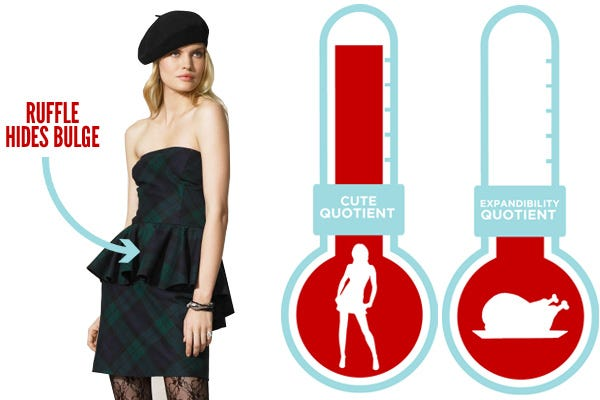 Dress To Hide Fat Belly- Holiday Dress To Hide Belly