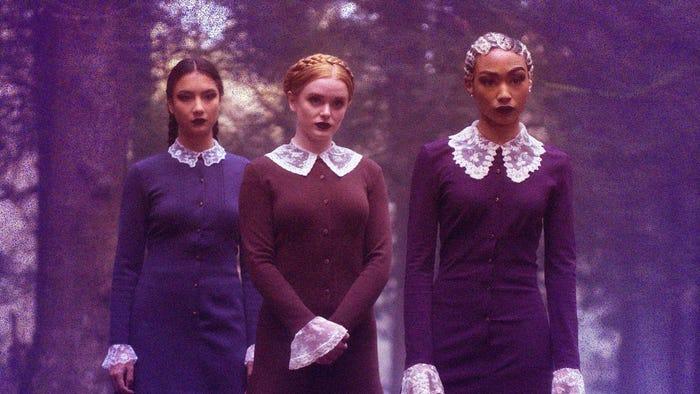 Sabrina Spellman Weird Sisters Dress 6