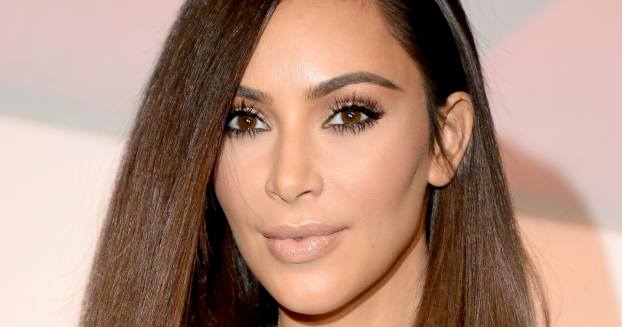 Kim Kardashian Shiny Hair How To Jen Atkin OUAI