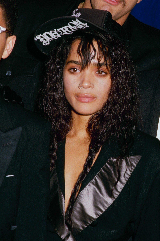 90s black hair popular styles - finger waves box braids