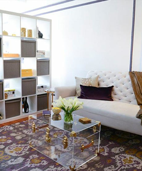 Small Apartment Zinging With Color: Small Space Decor Tips