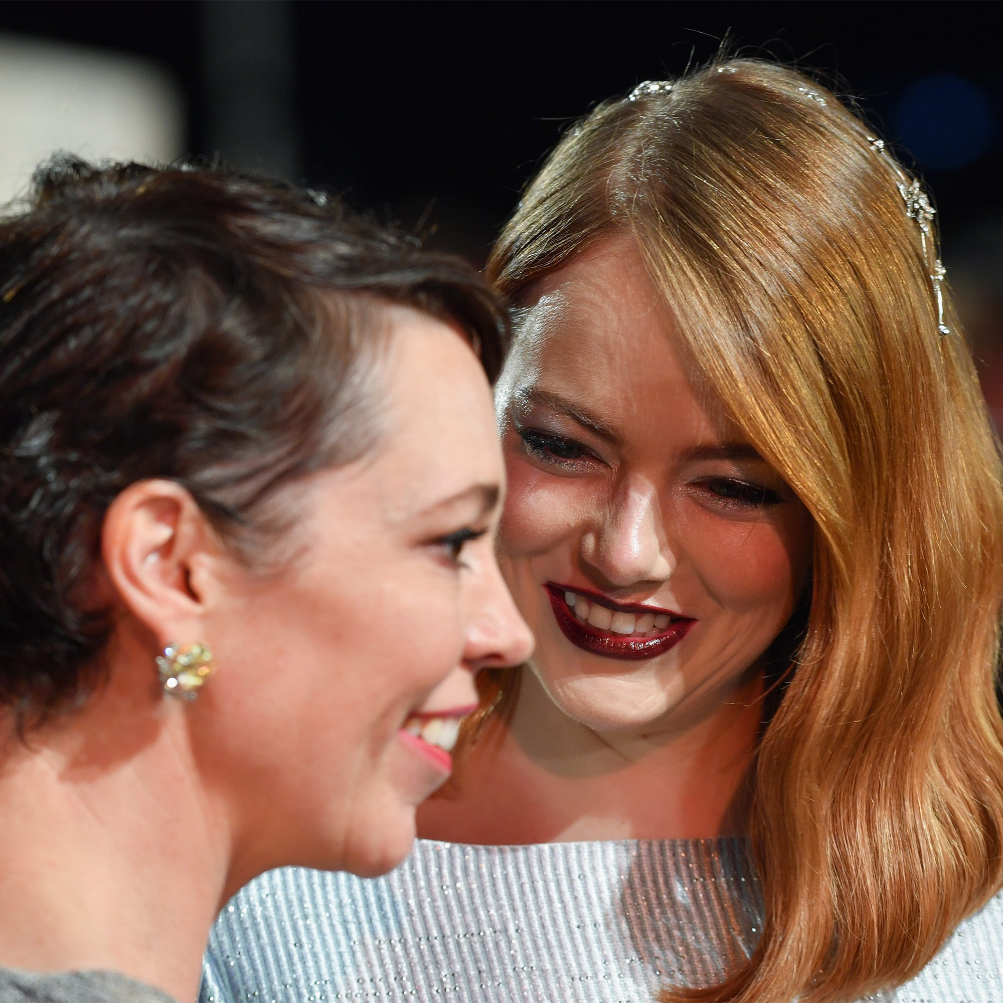 Actor Interrupts Emma Stone & Olivia Colman's Interview & They Are Not Having It