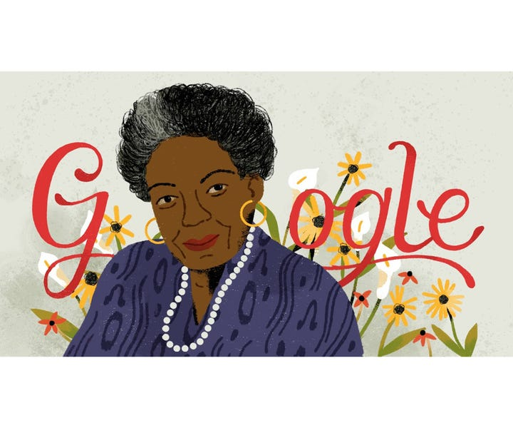 Doodle For Google: Maya Angelou Honored In Beautiful Google Doodle