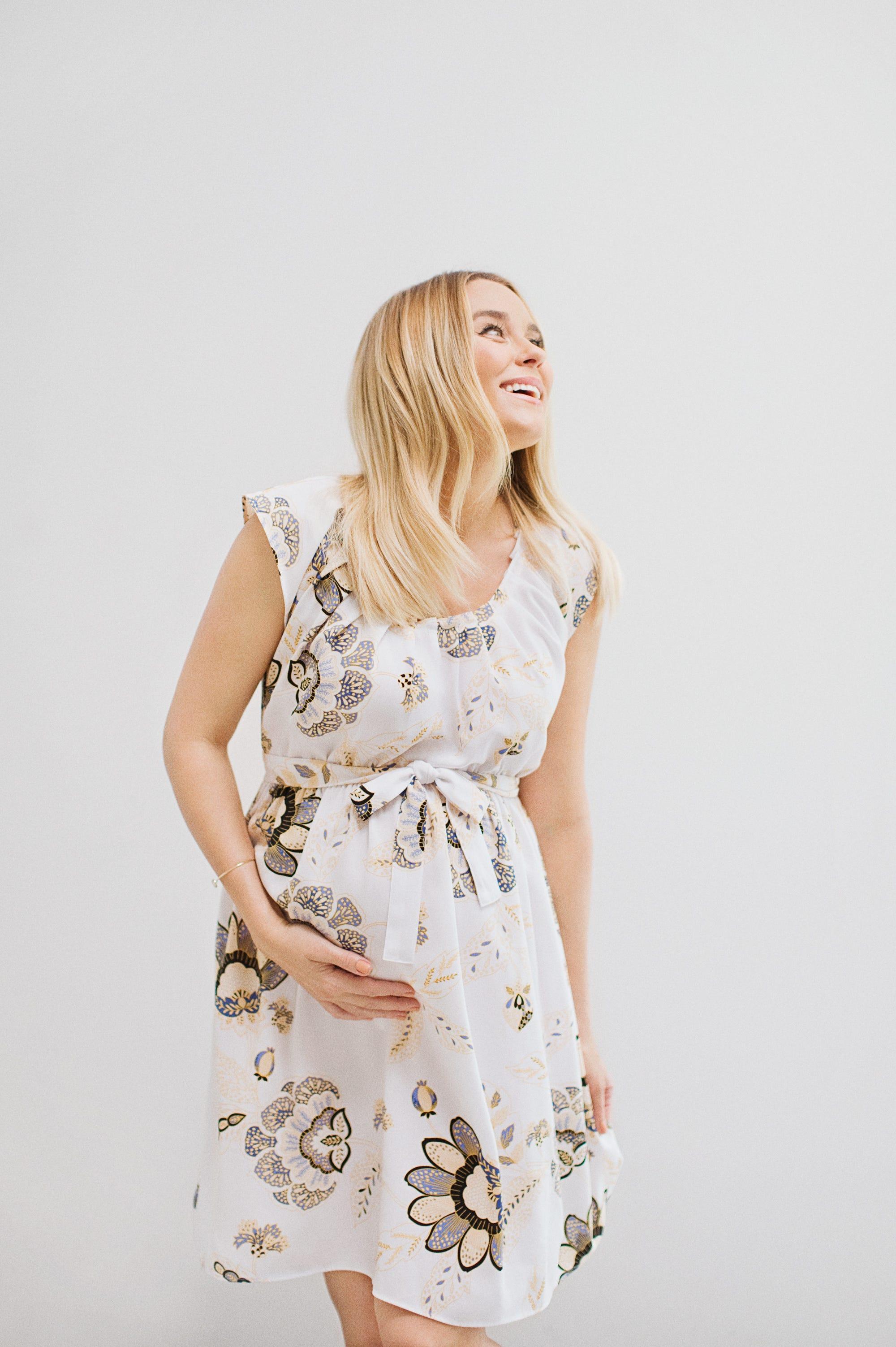 Lauren Conrad Pregnant Kohls Maternity Clothing Line Lc