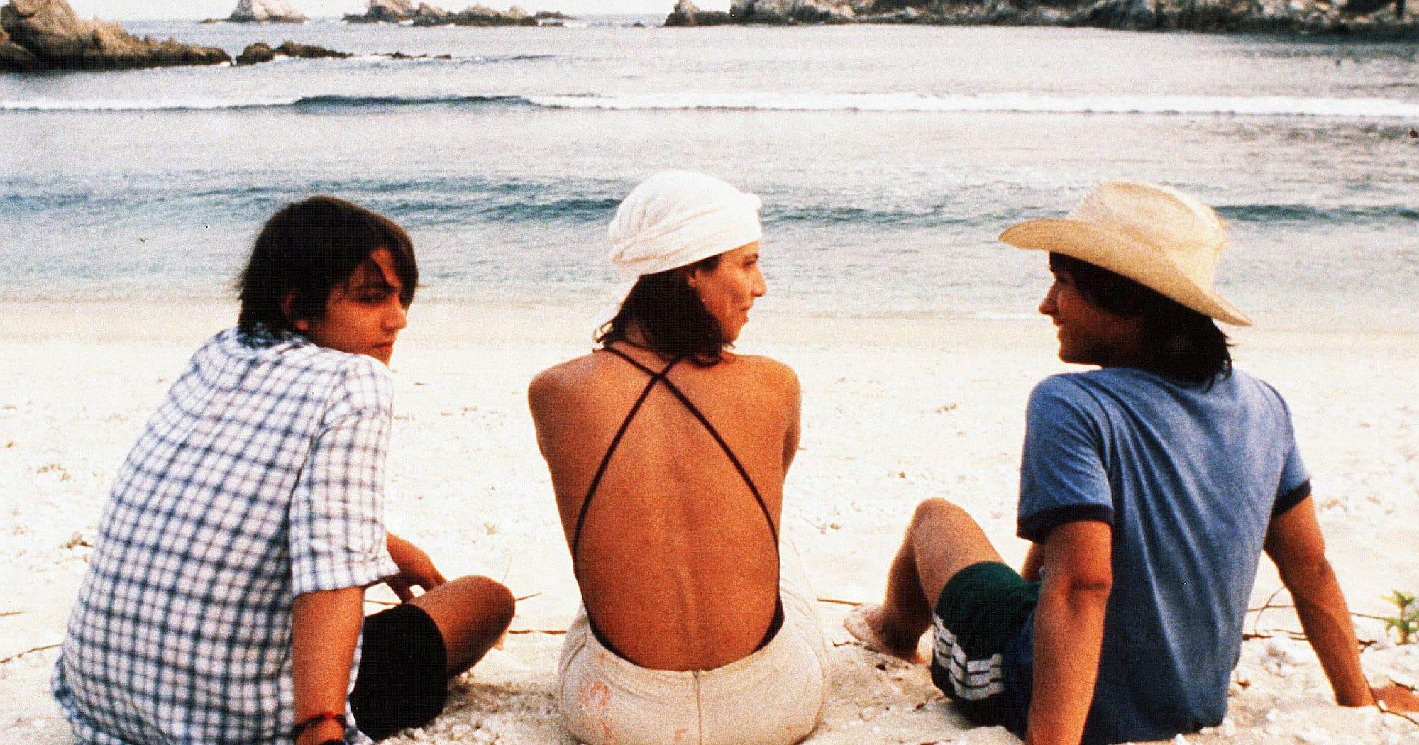 the beach sex scenes