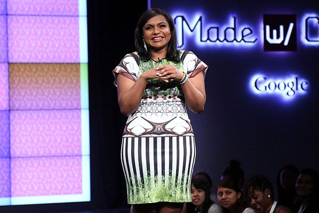 Mindy Kaling Interview Google Made With Code