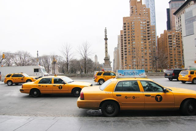 Uber Lowers Prices NYC - Average Cab Fare Manhattan
