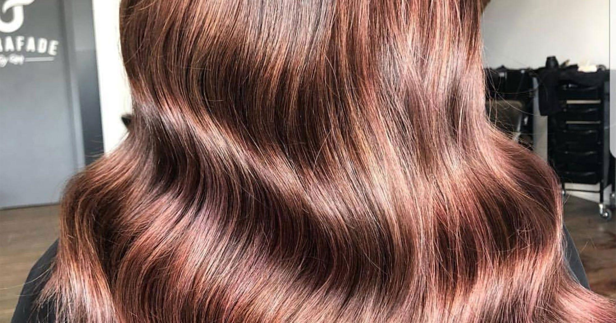 Rose Brown Spring Hair Color Trend For Brunettes