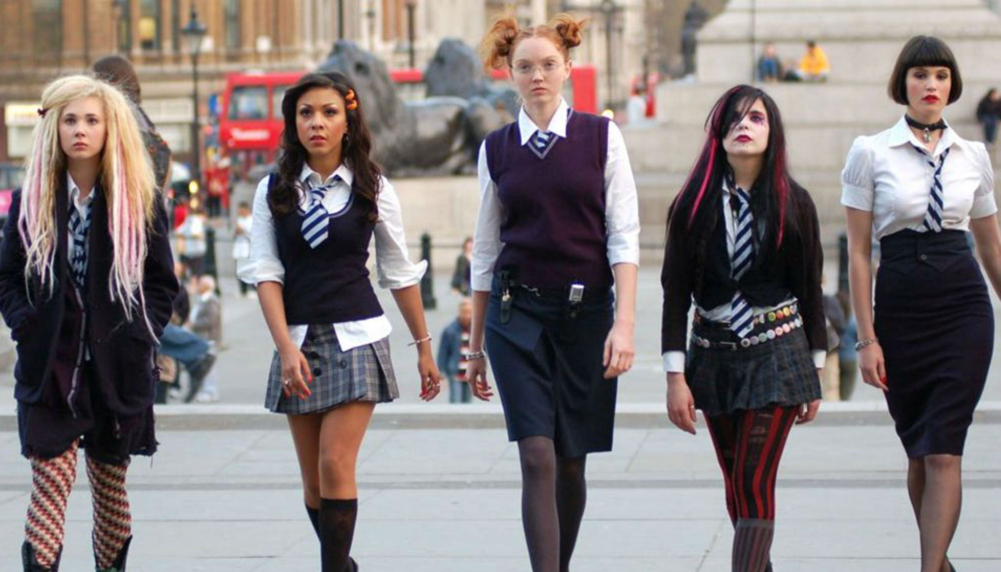 Angus Thongs And Perfect Snogging Cast iconic british teen movies - st trinian's, wild child