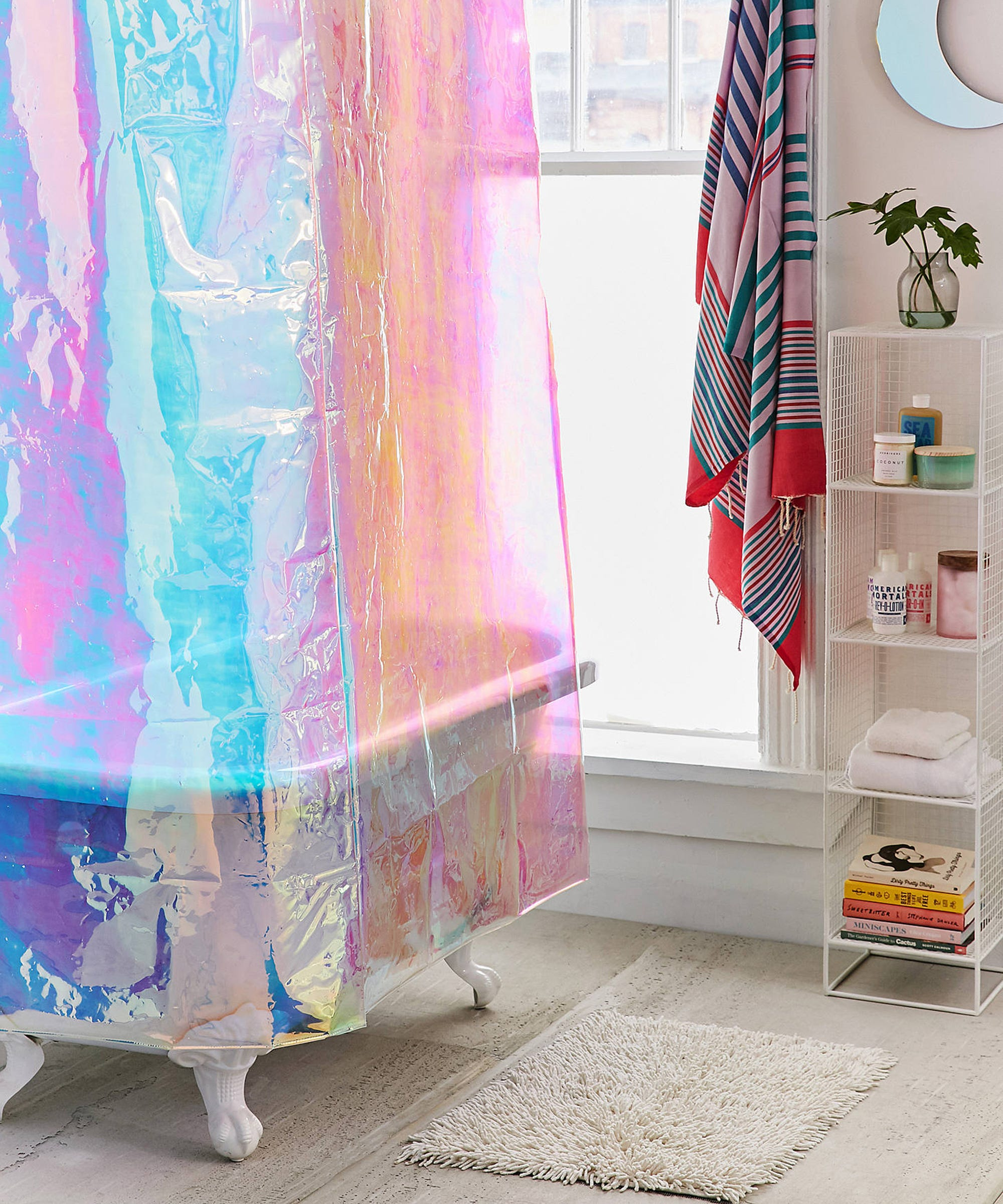 Cute Target Shower Curtains Budget Bathroom Makeover
