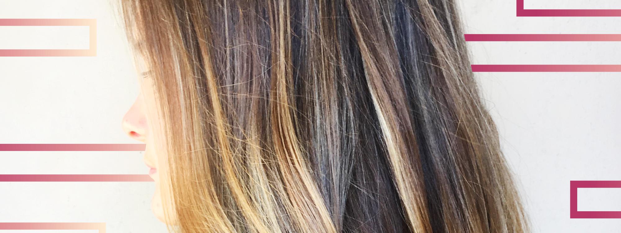 Meche blond caramel pinnable hair color ideas for short - Meche caramel ...