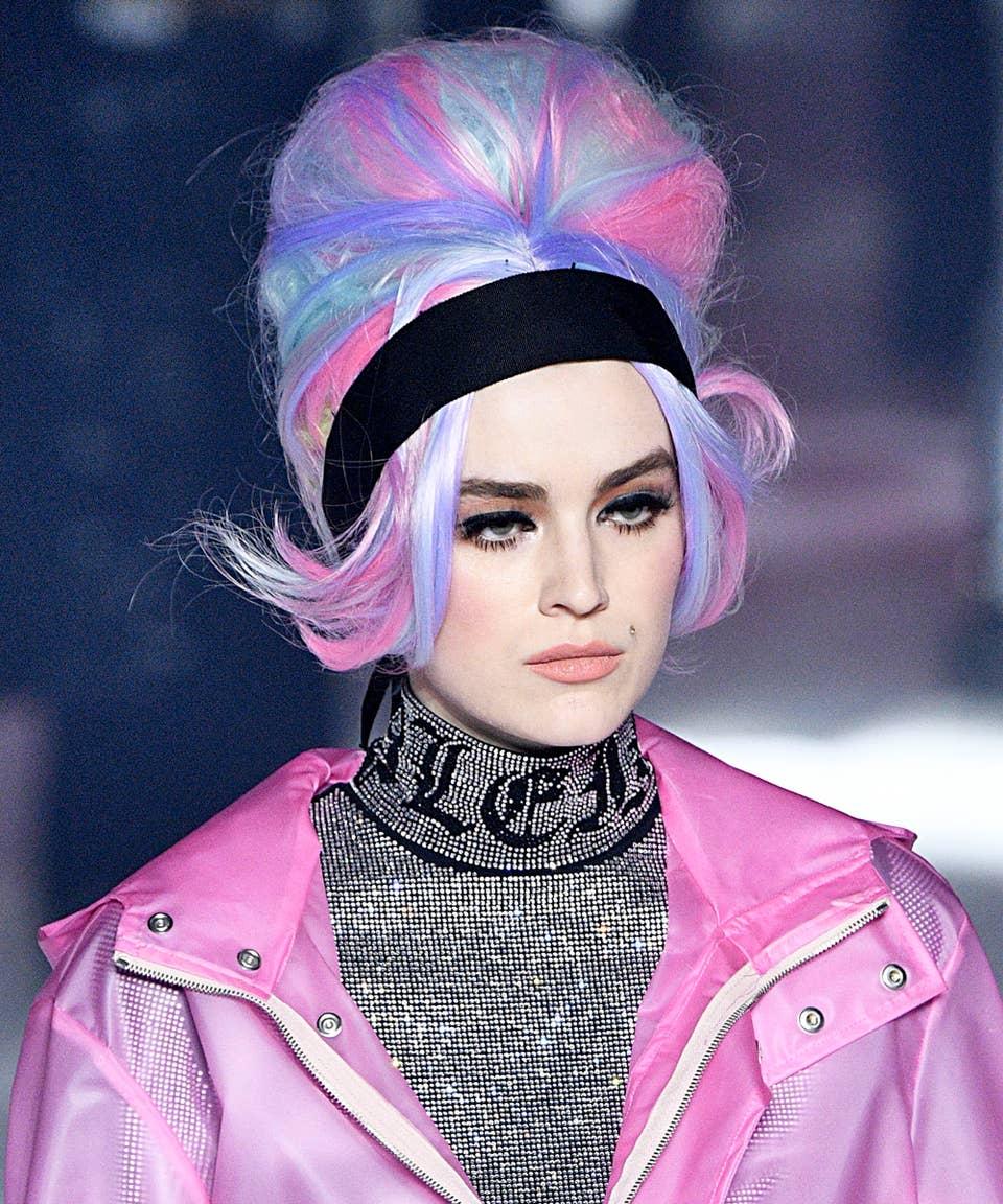 Barbarella Big Hair Is Trending At Fashion Month 2018