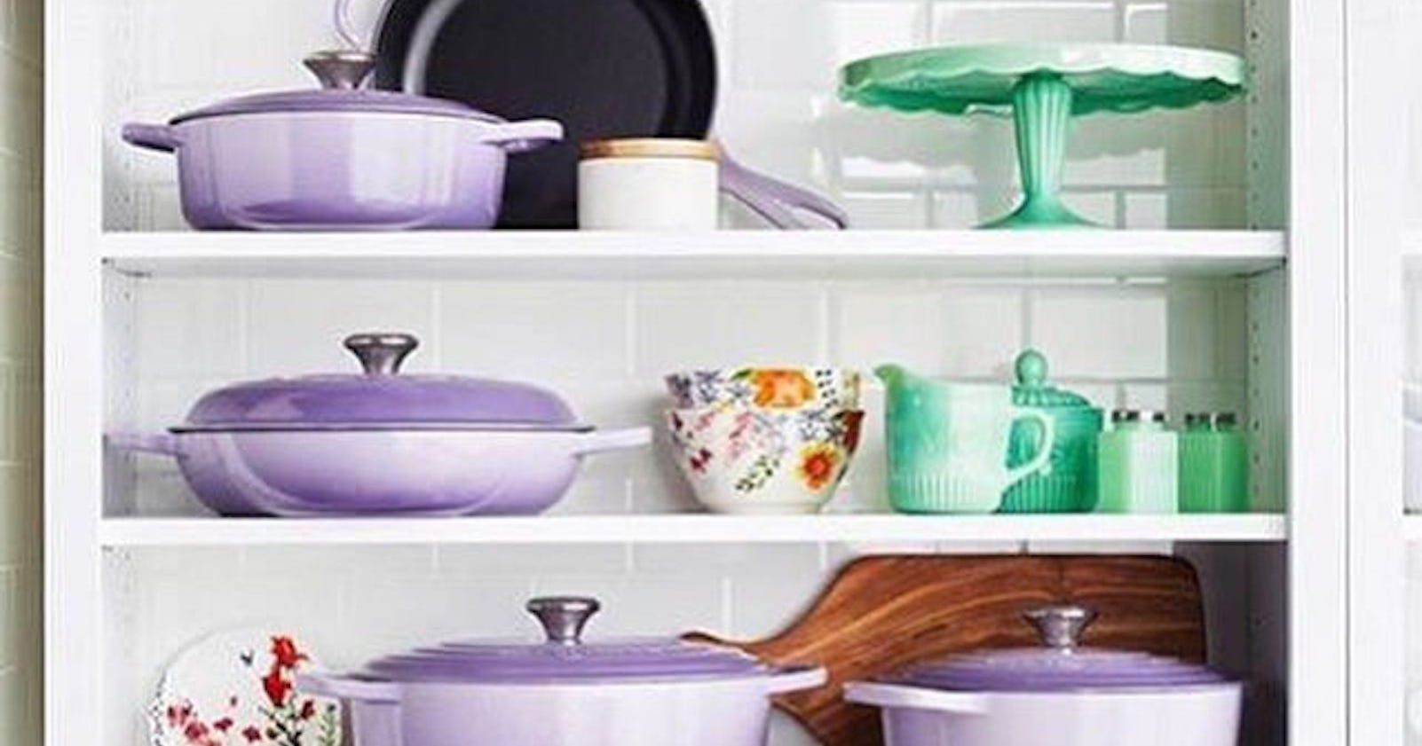 Le Creuset New Provence Purple Color February 2018