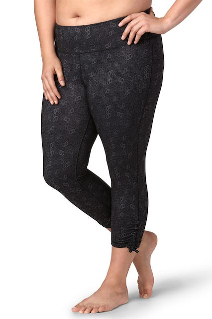 565aadee604d87 maurices + Plus Size Legging With Ruched Bottoms