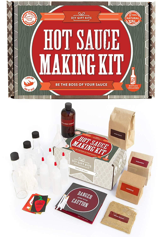 Diy Gift Kits Hot Sauce Kit Makes 7