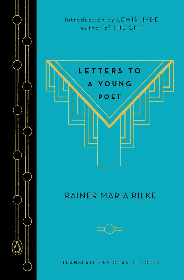 letters to a young poet best inspirational books that will change your 1465