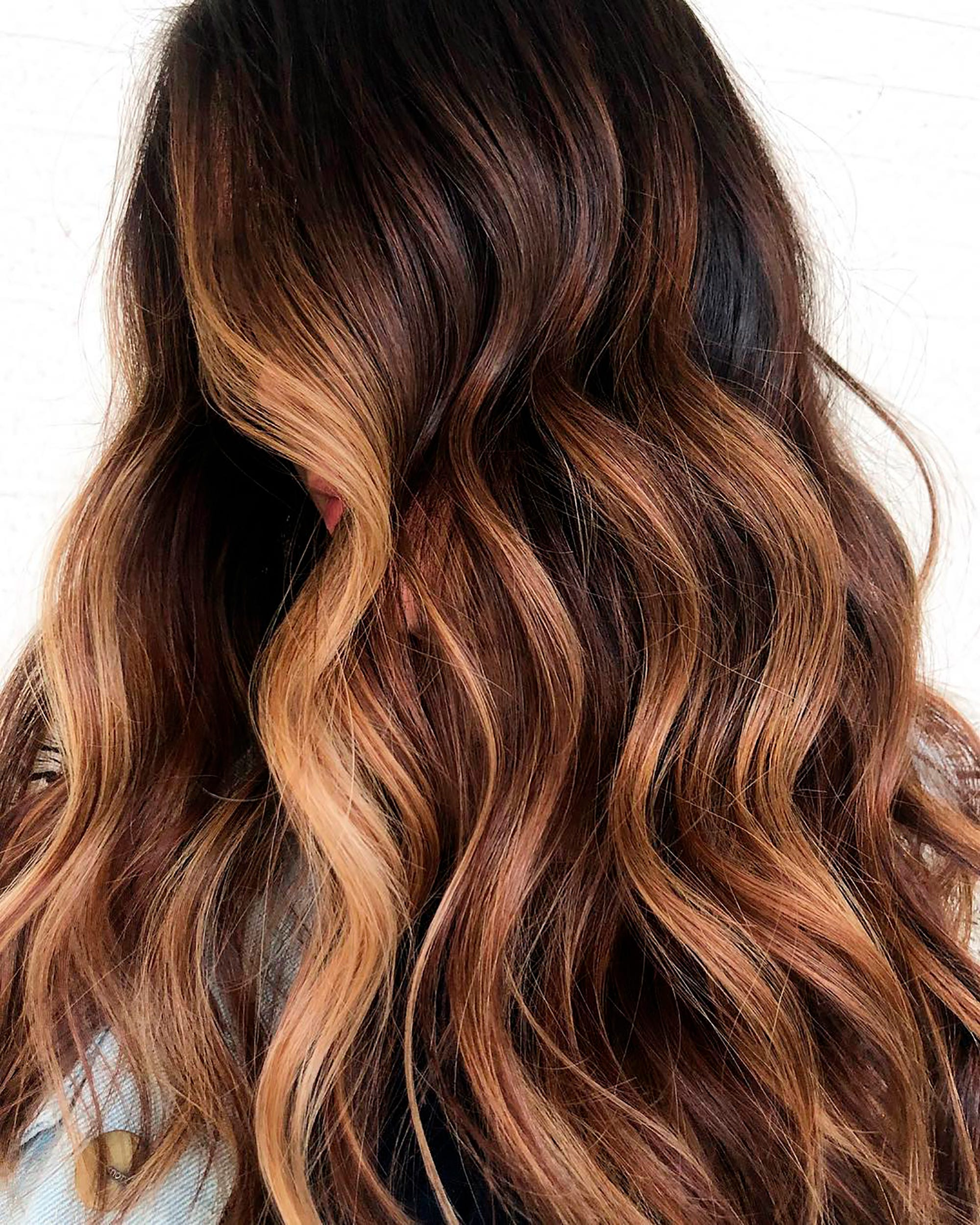 What Is Balayage Negative Space Hair Colour