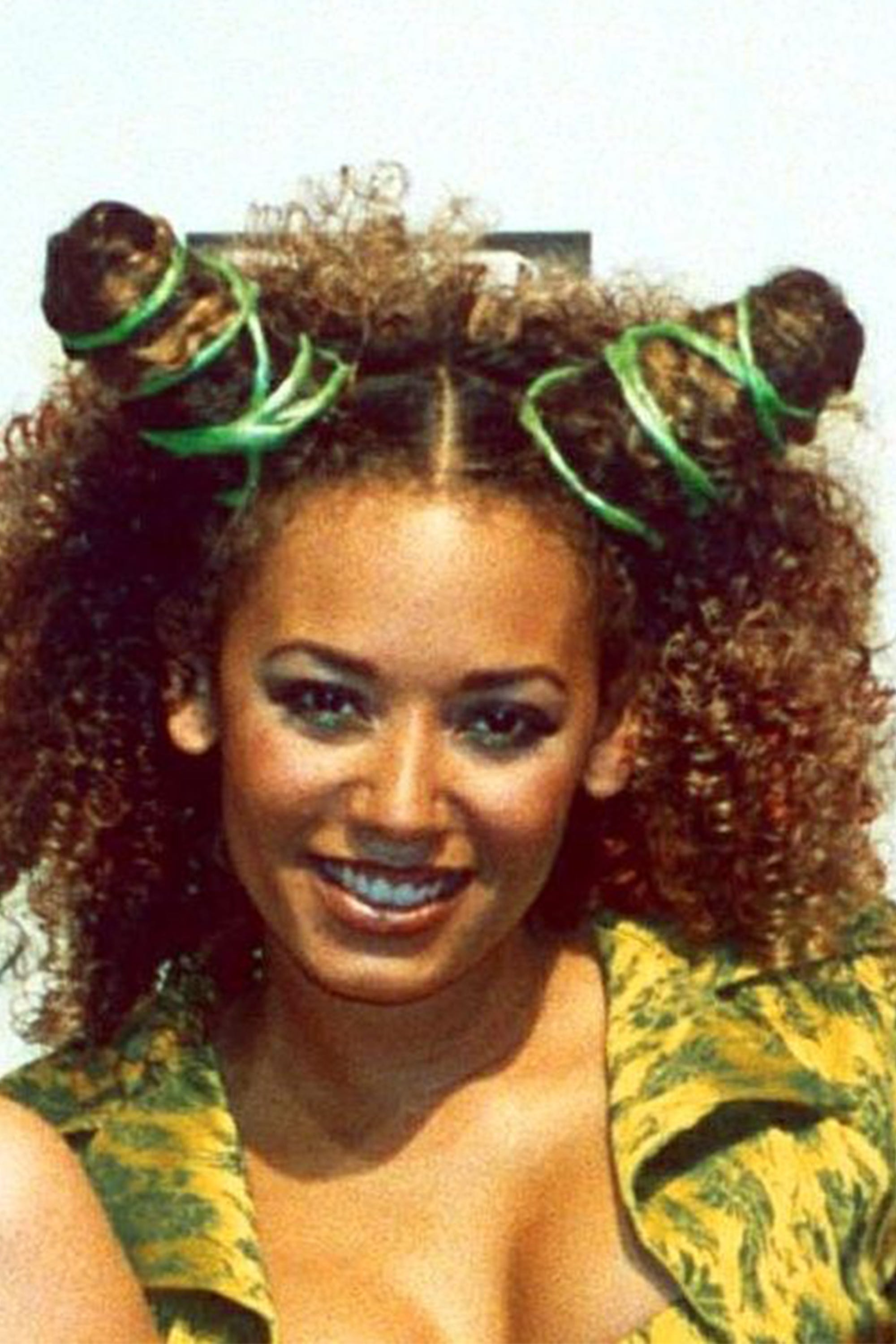 90s black hair popular styles - finger waves box braids