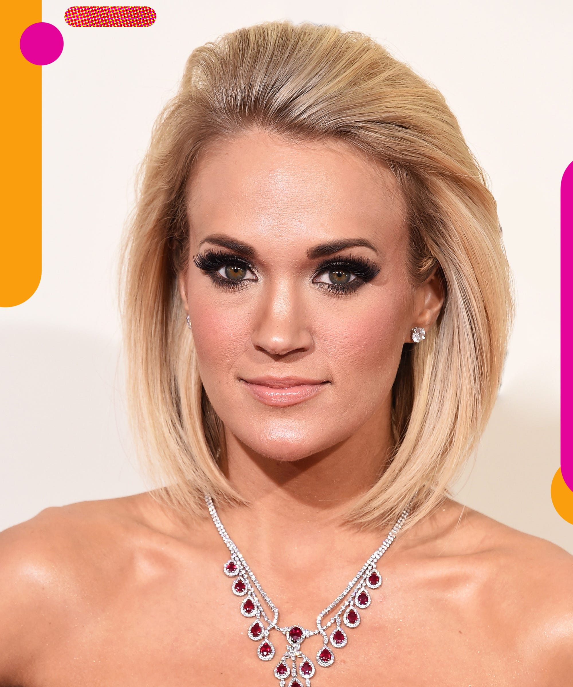 Carrie Underwood Says Scar Is Not Plastic Surgery