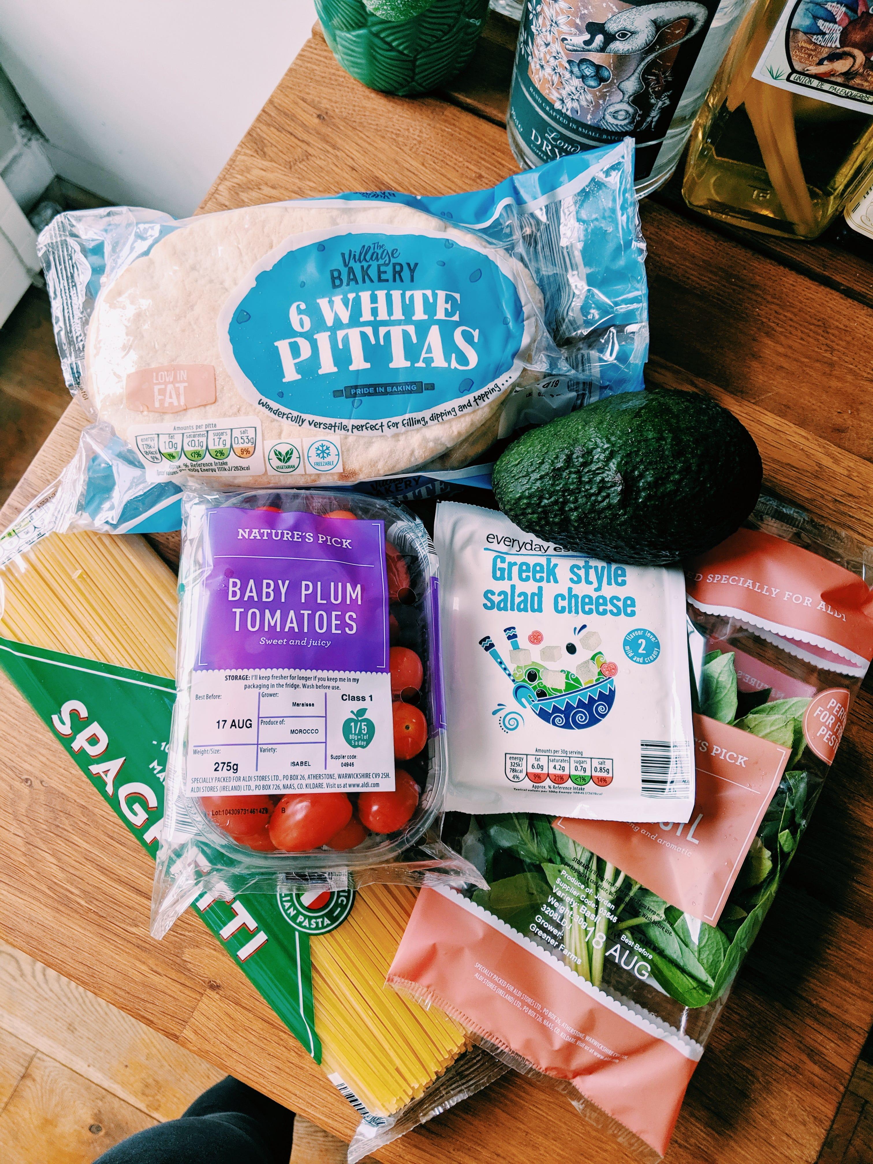 Food Spending Diary: £63 In A Week