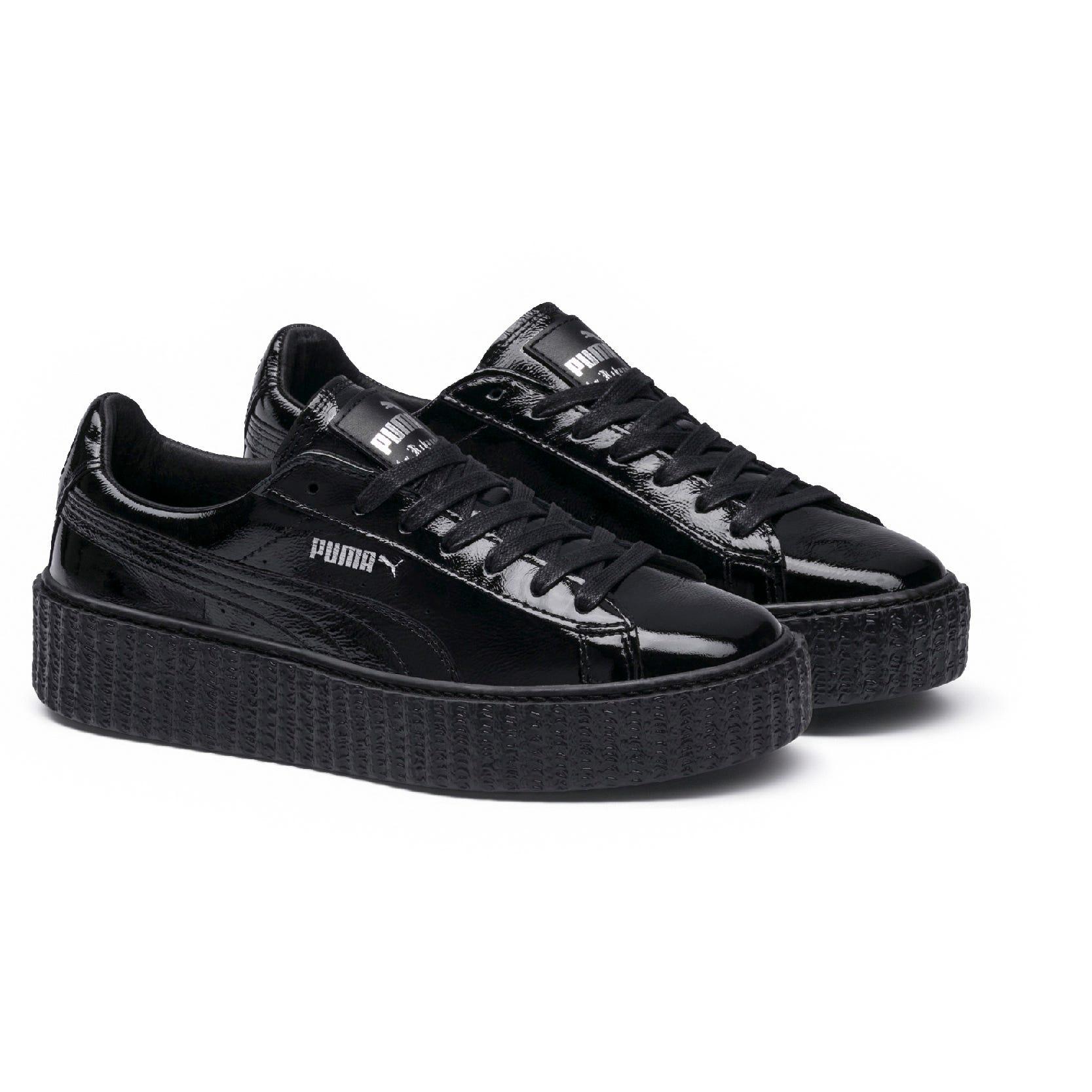 buy popular 9f5e7 42788 Rihanna Fenty Puma Creeper Sneaker New Black White Drop