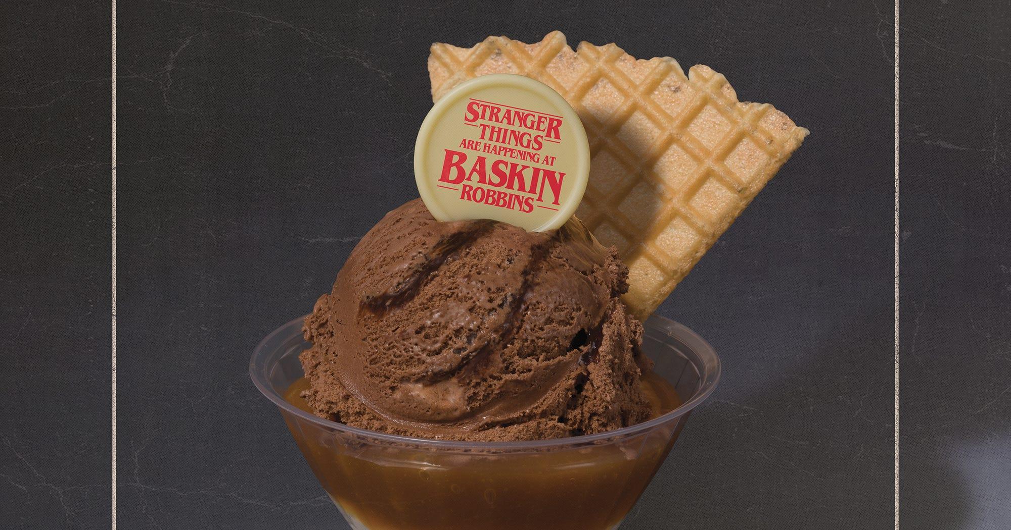 Netflix Amp Baskin Robbins Make Stranger Things Ice Cream
